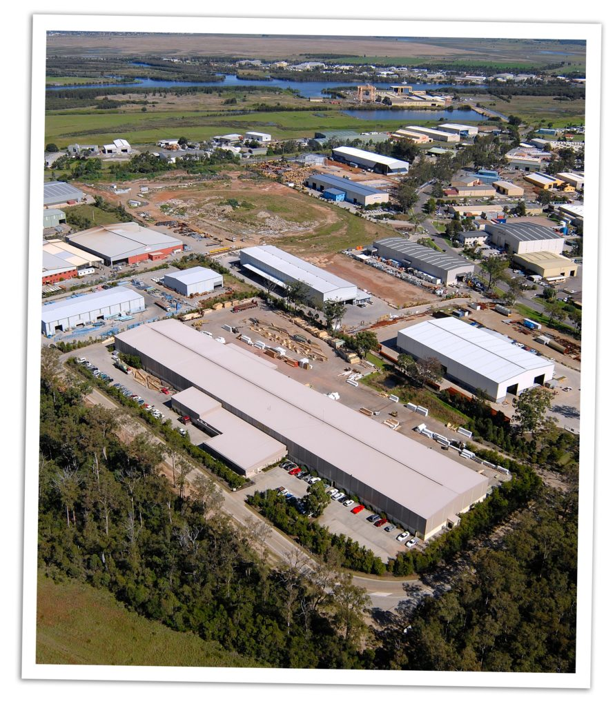 ATB's new office and workshop within the Tomago Speedway Industrial Park