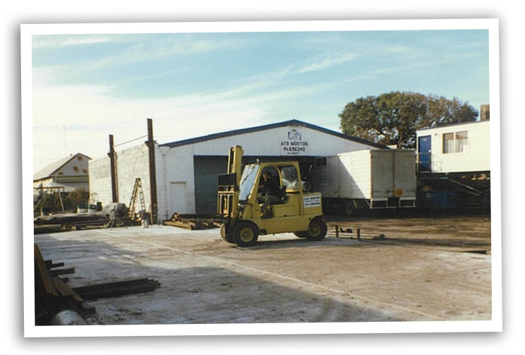 First Workshop that we leased in Wickham